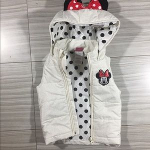 Toddlers Minnie Mouse Vest Size 3T